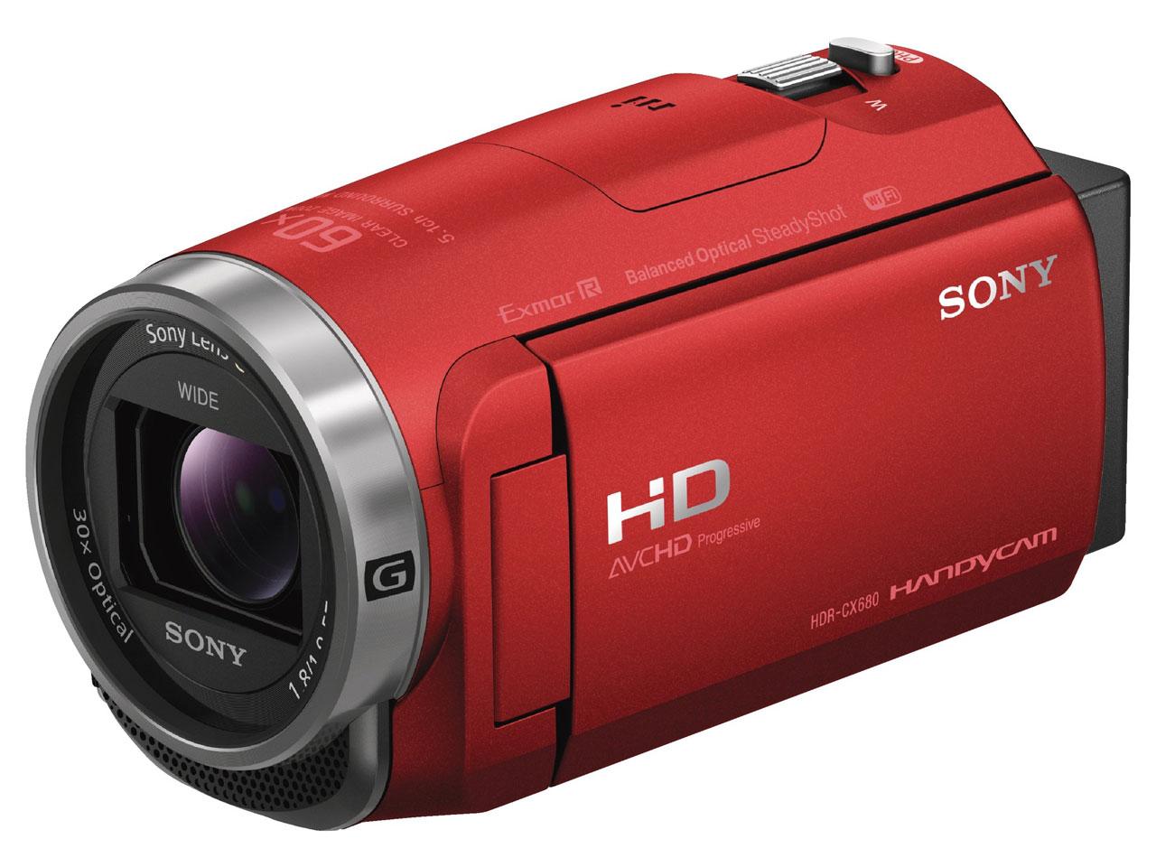HDR-CX680 (R) [レッド] の製品画像