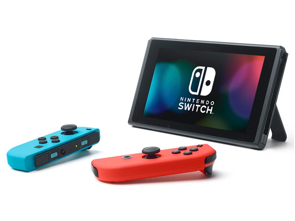 『本体2』 Nintendo Switch [ネオンブルー/ネオンレッド] の製品画像