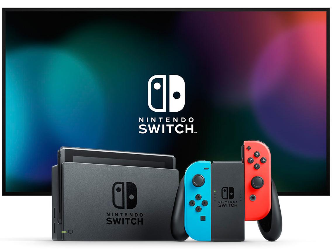 『本体4』 Nintendo Switch [ネオンブルー/ネオンレッド] の製品画像