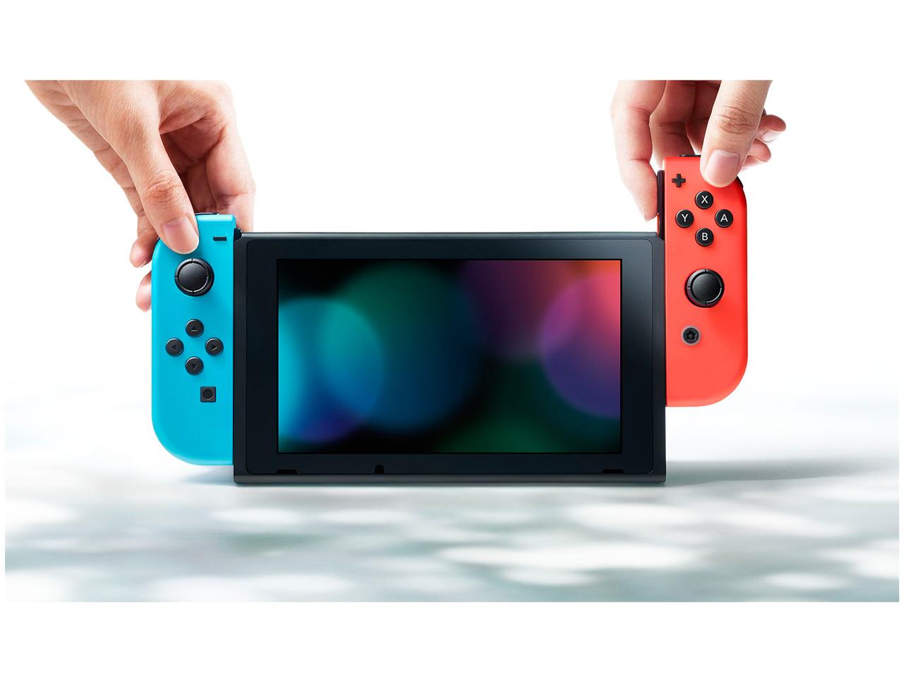 『本体5』 Nintendo Switch [ネオンブルー/ネオンレッド] の製品画像