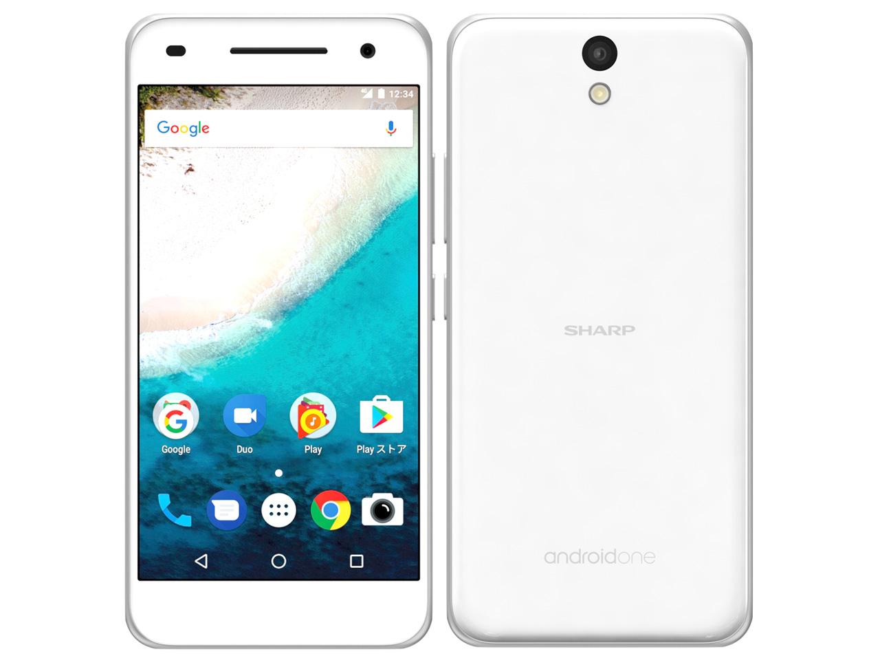 Android One S1 ワイモバイル [ホワイト] の製品画像