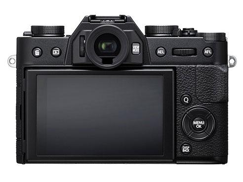 『本体 背面』 FUJIFILM X-T20 ボディ [ブラック] の製品画像