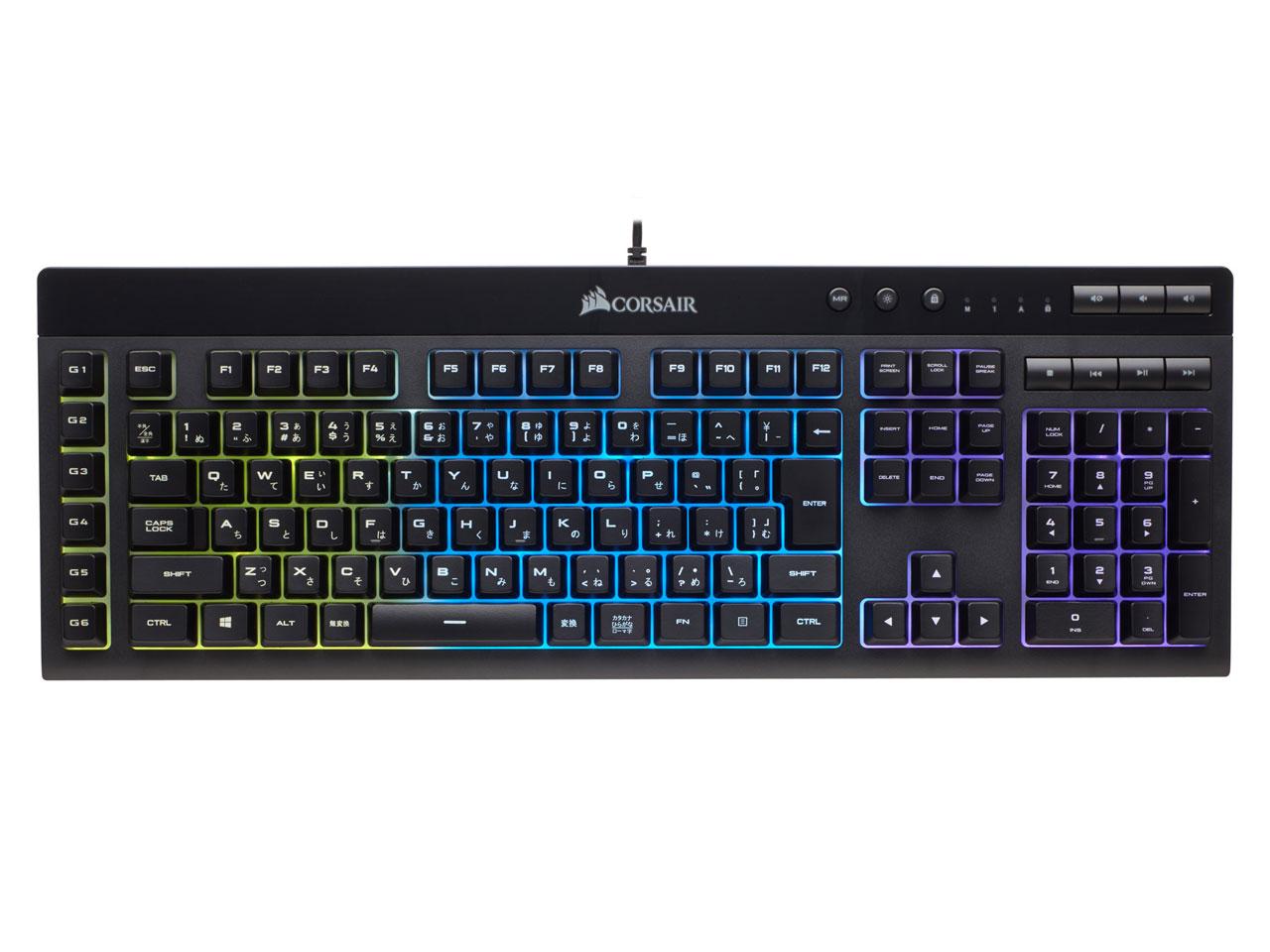 Gaming K55 RGB CH-9206015-JP [ブラック] の製品画像