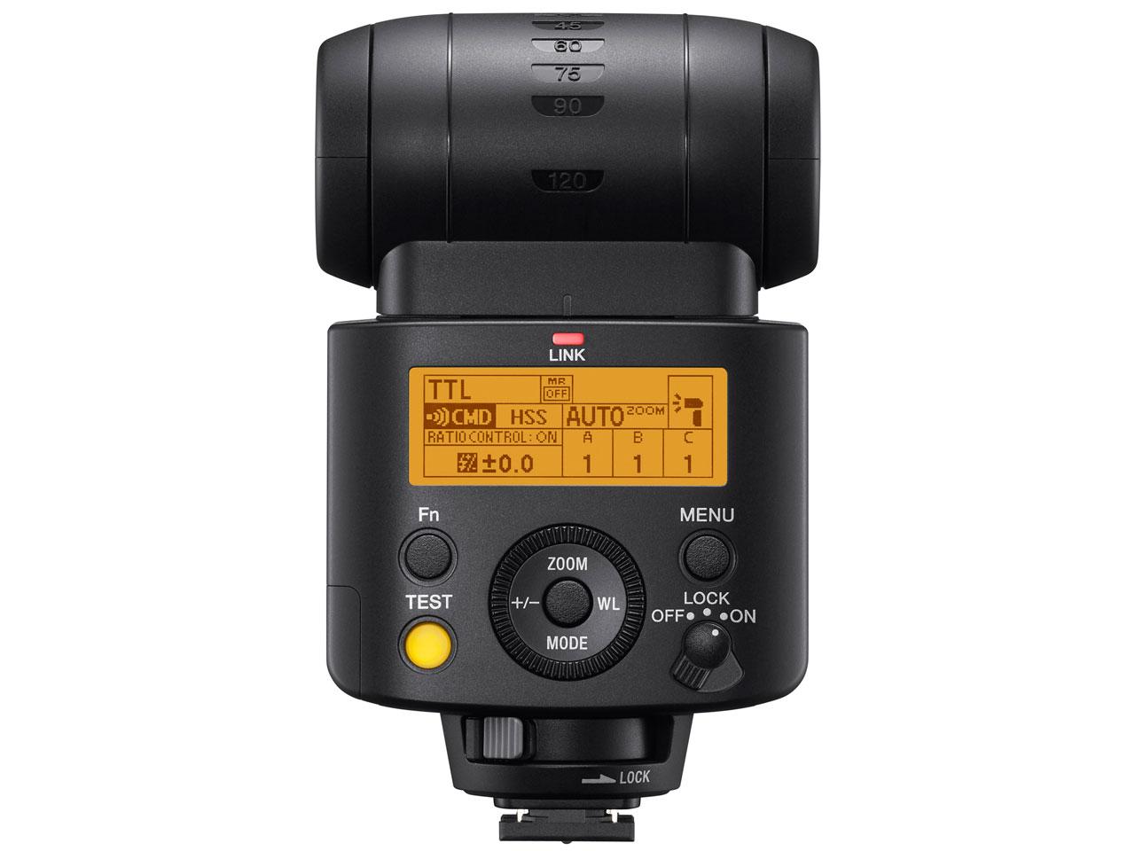 『本体 背面』 HVL-F45RM の製品画像