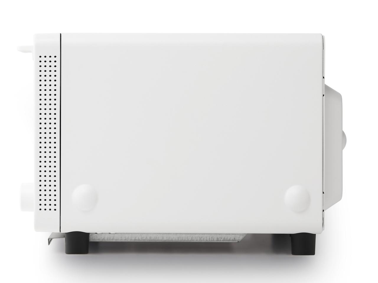 『本体 右側面』 The Toaster K01E-WS [ホワイト] の製品画像