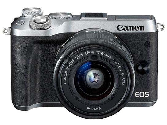 EOS M6 EF-M15-45 IS STM レンズキット [シルバー] の製品画像