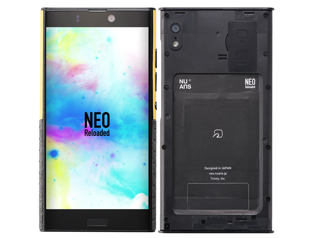 NuAns NEO Reloaded NA-CORE2-JP SIMフリー の製品画像
