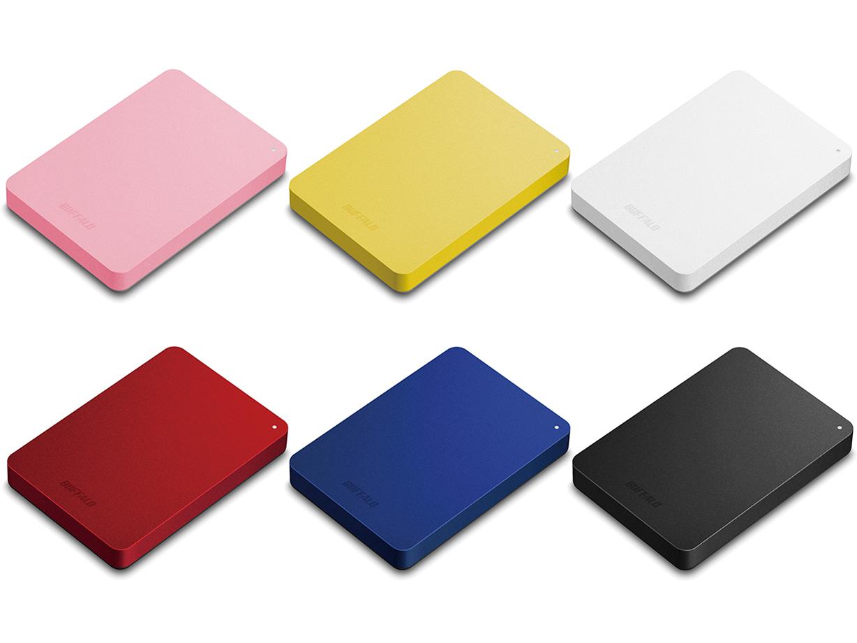 『カラーバリエーション』 MiniStation HD-PNF1.0U3-BBE [ブラック] の製品画像