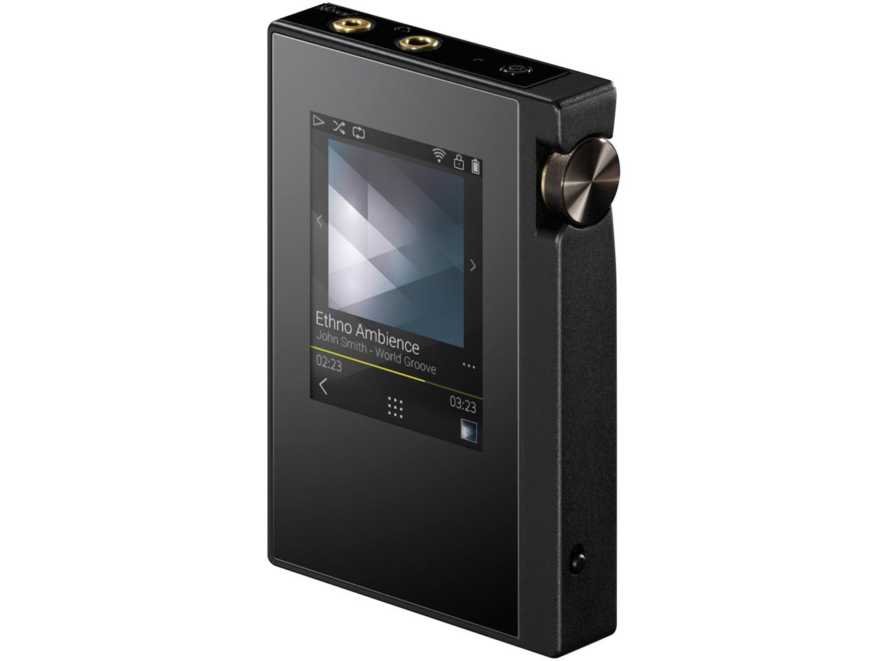 『本体 斜め』 rubato DP-S1(B) [16GB] の製品画像