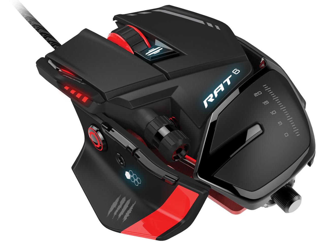『本体』 RAT 6 Laser Gaming Mouse MCB43732J0A3 の製品画像