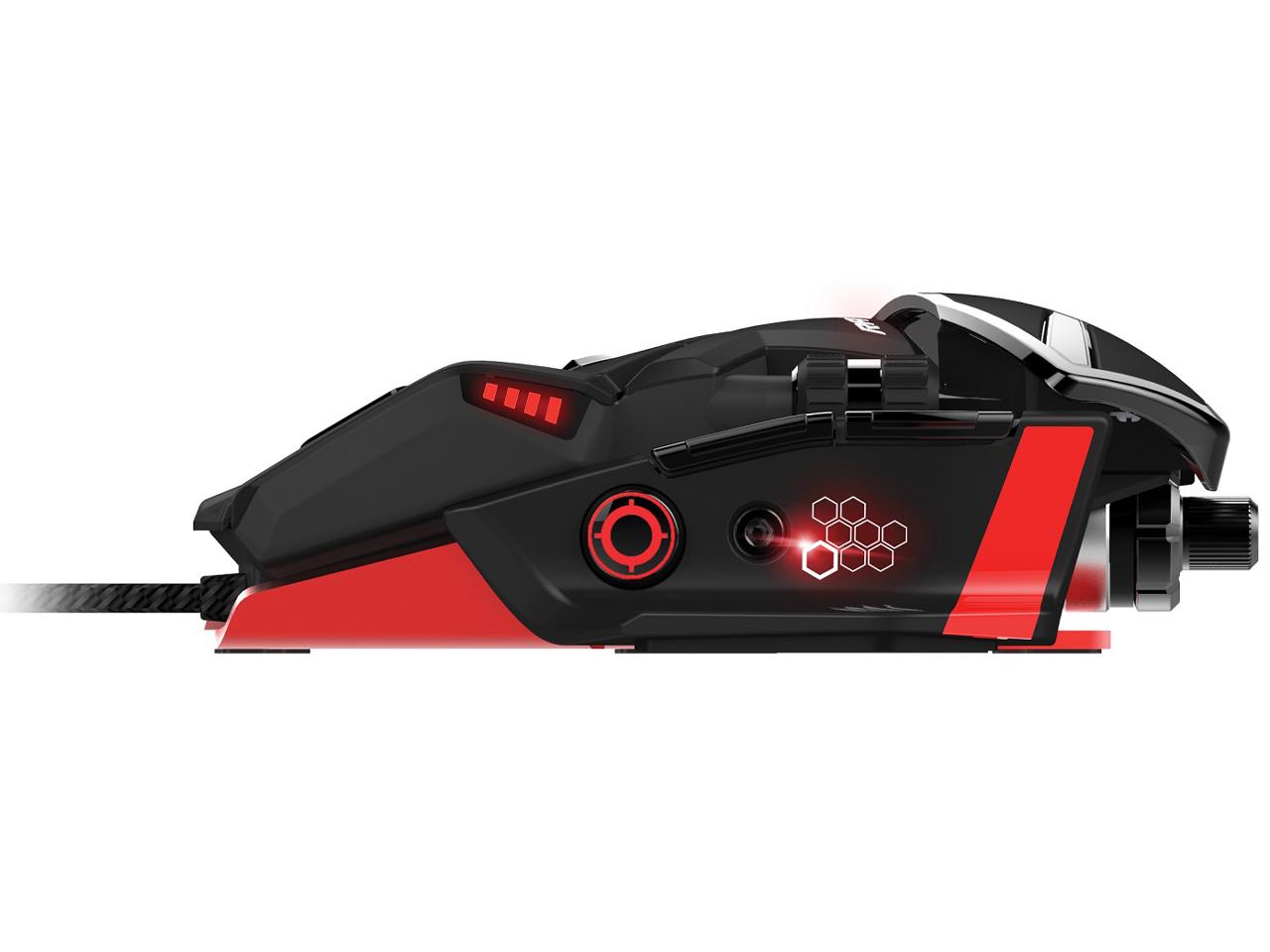 『本体 側面1』 RAT 6 Laser Gaming Mouse MCB43732J0A3 の製品画像