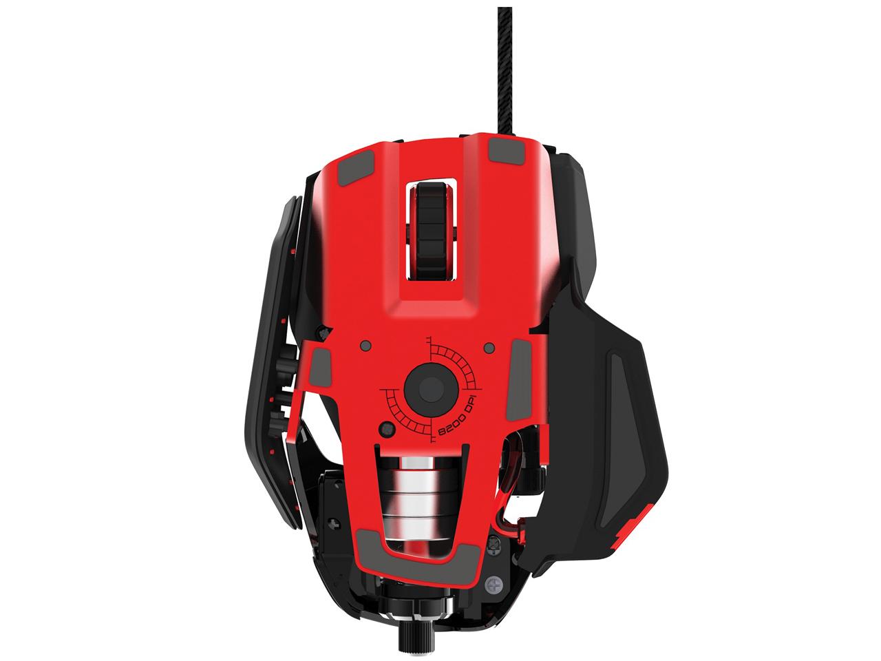 『本体 底面』 RAT 6 Laser Gaming Mouse MCB43732J0A3 の製品画像