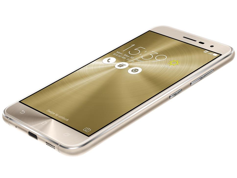 ZenFone 3 ZE520KL-GD32S3 SIMフリー [クリスタルゴールド] の製品画像