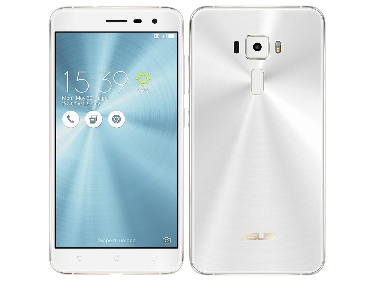 ZenFone 3 ZE552KL-WH64S4 SIMフリー [パールホワイト] の製品画像