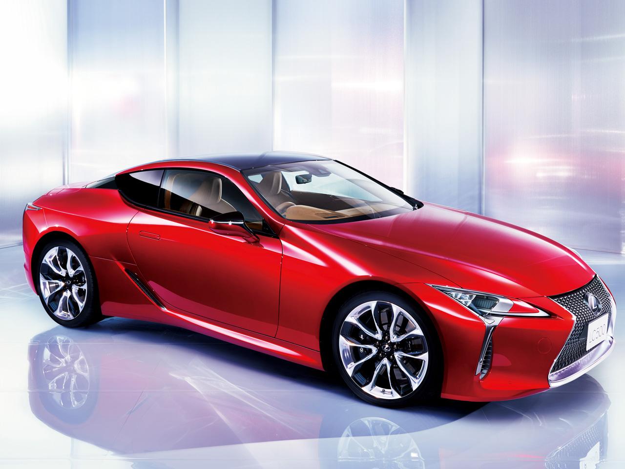 レクサス LC 2017年モデル 新車画像