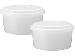 『付属品 製氷カップ』 Otona 電動ふわふわとろ雪かき氷器 DTY-17BK の製品画像
