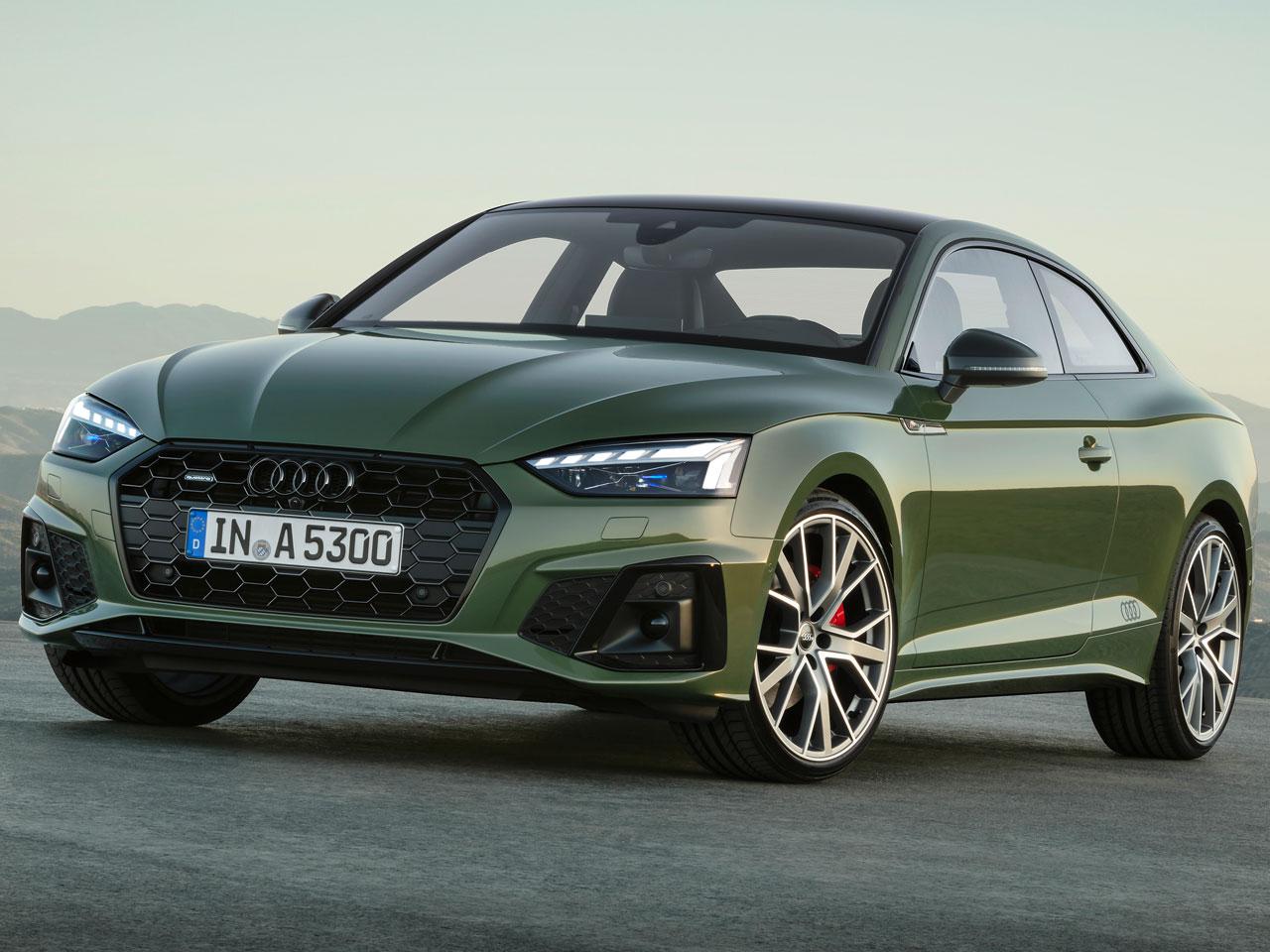 アウディ A5 2017年モデル 新車画像