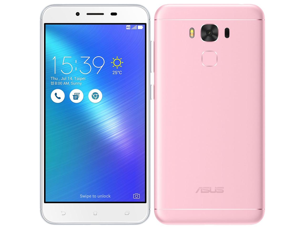 ZenFone 3 Max ZC553KL-PK32S3 SIMフリー [ピンク] の製品画像