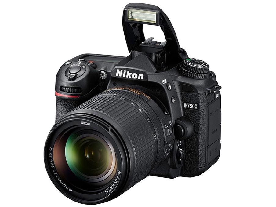 『本体 正面2』 D7500 18-140 VR レンズキット の製品画像