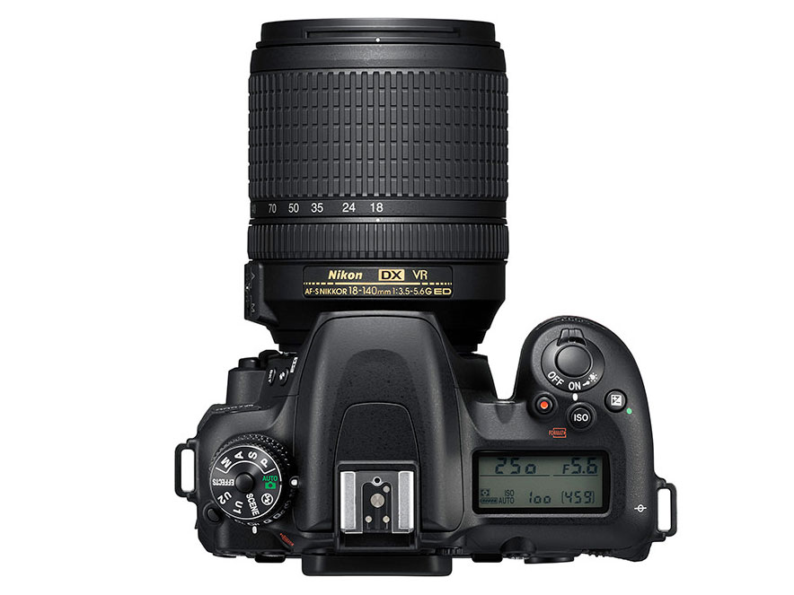 『本体 上面』 D7500 18-140 VR レンズキット の製品画像