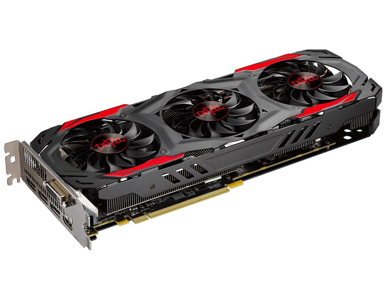 『本体2』 PowerColor Red Devil Radeon RX 570 4GB GDDR5 AXRX 570 4GBD5-3DH/OC [PCIExp 4GB] の製品画像