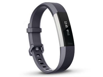 Fitbit Alta HR Lサイズ FB408SGYL-CJK [ブルーグレー] の製品画像