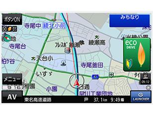 『ルート画面1』 GORILLA CN-G510D の製品画像