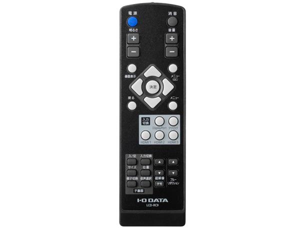 『リモコン』 LCD-M4K431XDB [43インチ ブラック] の製品画像