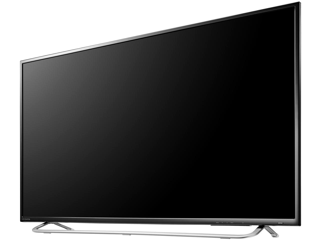『本体 斜め1』 LCD-M4K431XDB [43インチ ブラック] の製品画像
