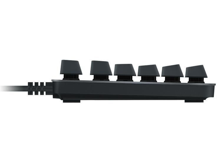 『本体 左側面』 K840 Mechanical Keyboard [スレート] の製品画像