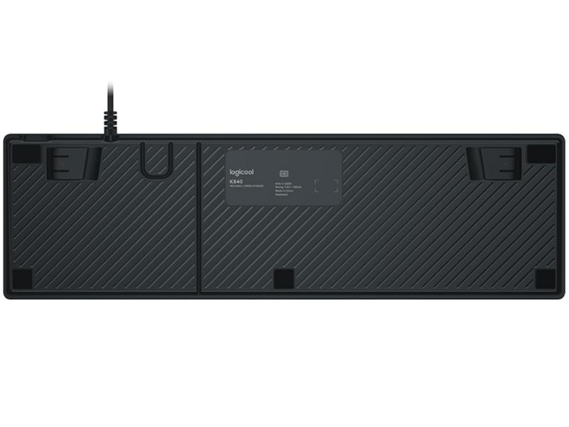 『本体 底面』 K840 Mechanical Keyboard [スレート] の製品画像