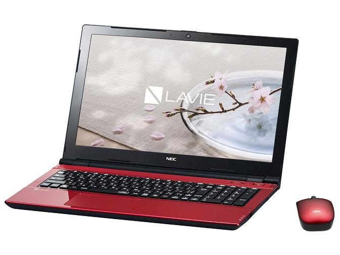 LAVIE Smart NS(e) PC-SN16CNSAA-2 [ルミナスレッド] の製品画像