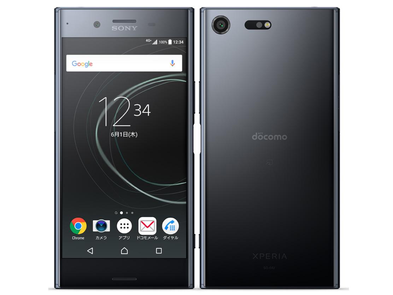 Xperia XZ Premium SO-04J docomo [Deepsea Black] の製品画像