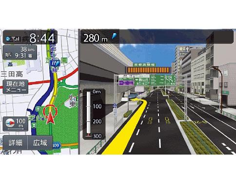『ルート画面2』 NXシリーズ NX717 の製品画像