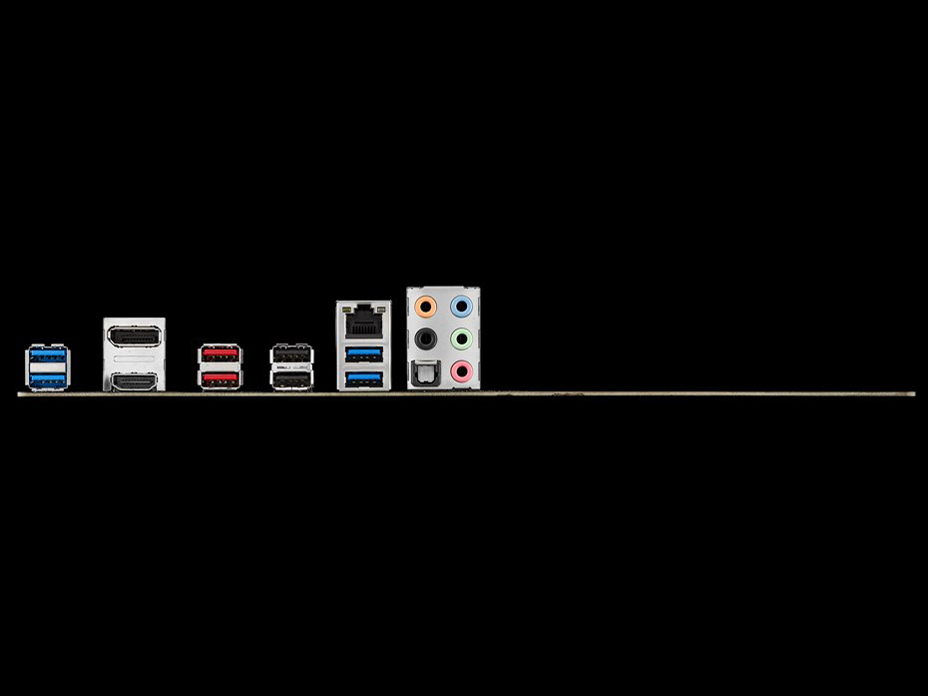 『本体 接続部分』 ROG STRIX B350-F GAMING の製品画像
