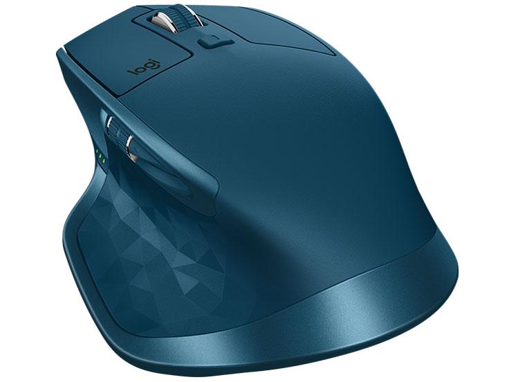 『本体2』 MX MASTER 2S Wireless Mouse MX2100sMT [ミッドナイト ティール] の製品画像