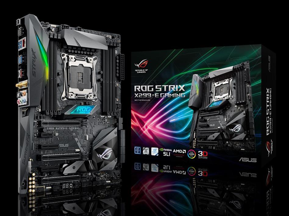 『本体 パッケージ』 ROG STRIX X299-E GAMING の製品画像