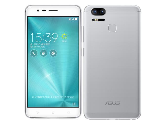ZenFone Zoom S SIMフリー [シルバー] の製品画像
