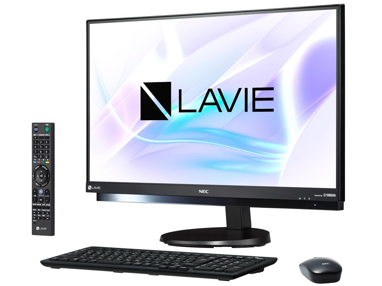 LAVIE Desk All-in-one DA770/HAB PC-DA770HAB [ファインブラック]