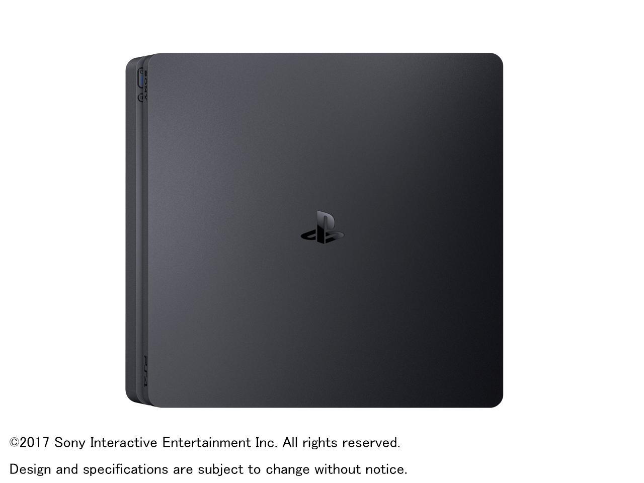 『本体 右側面1』 プレイステーション4 HDD 500GB ジェット・ブラック CUH-2100AB01 の製品画像
