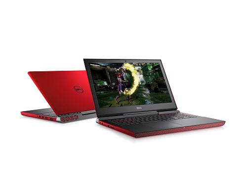 Inspiron 15 7000 ゲーミング スタンダード Core i5 7300HQ・8GBメモリ・256GB SSD・GeForce GTX 1050Ti搭載・フルHDモデル [レッド] の製品画像