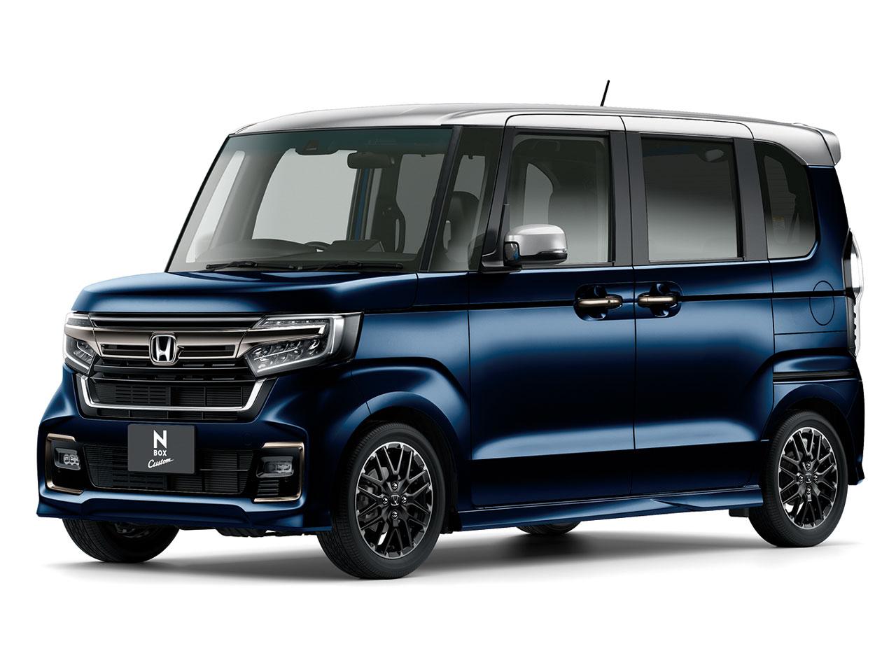 ホンダ N-BOX カスタム 2017年モデル 新車画像