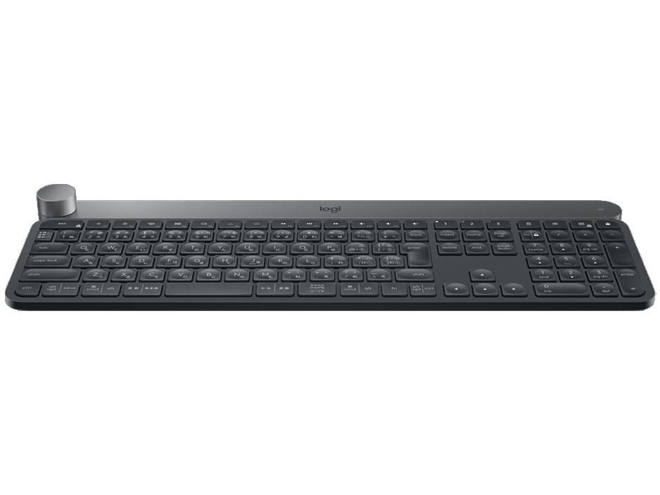 『本体1』 CRAFT KX1000s Multi-Device Wireless Keyboard [ブラック] の製品画像