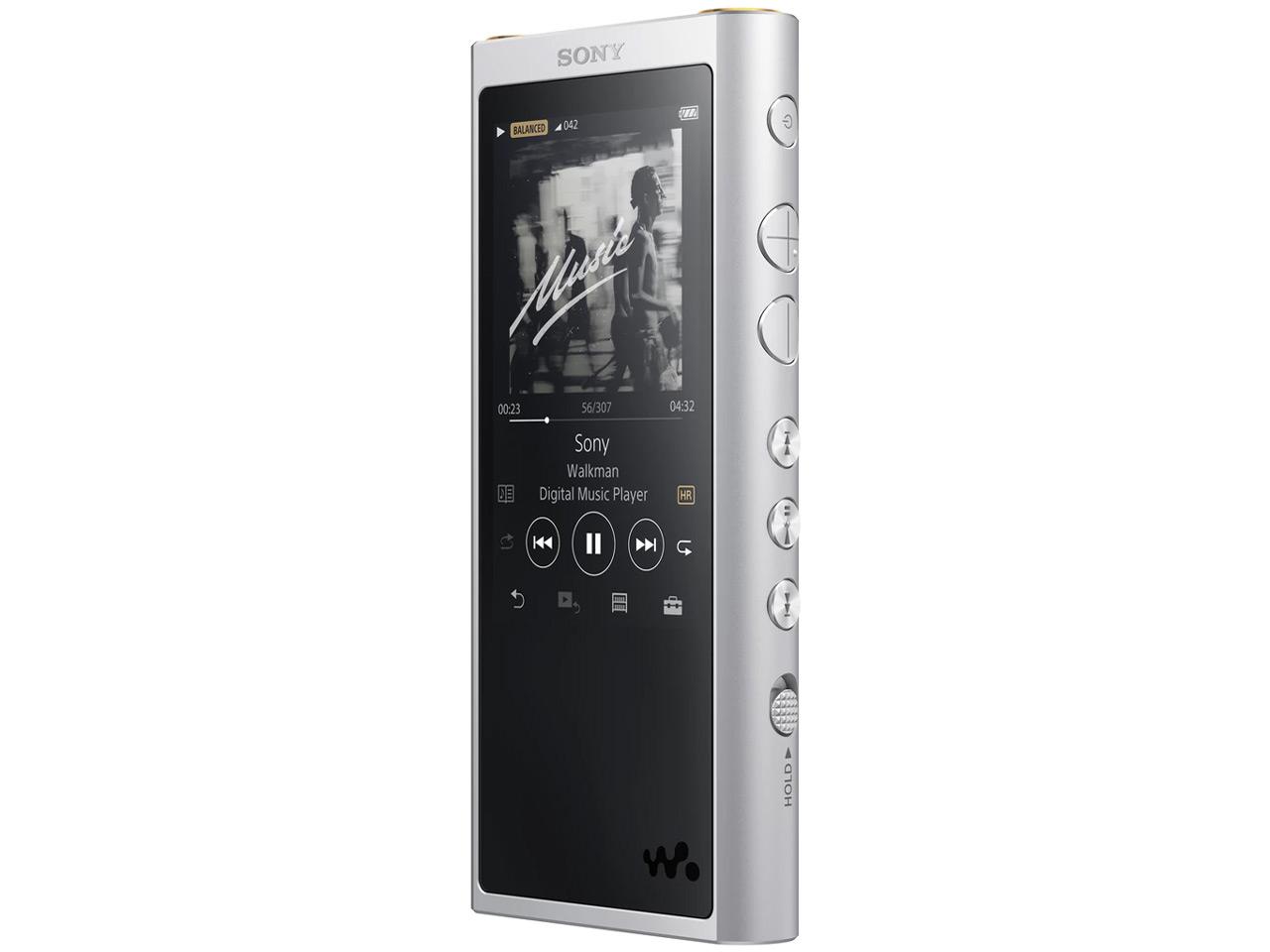 『本体 ヘッドホンジャック部分』 NW-ZX300 (S) [64GB シルバー] の製品画像