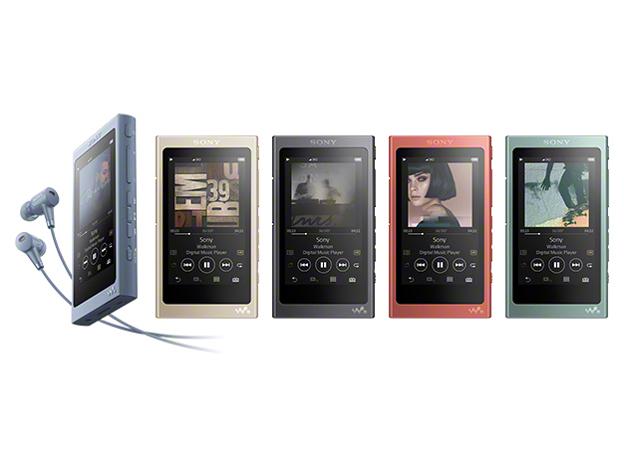 『カラーバリエーション』 NW-A45HN (R) [16GB トワイライトレッド] の製品画像