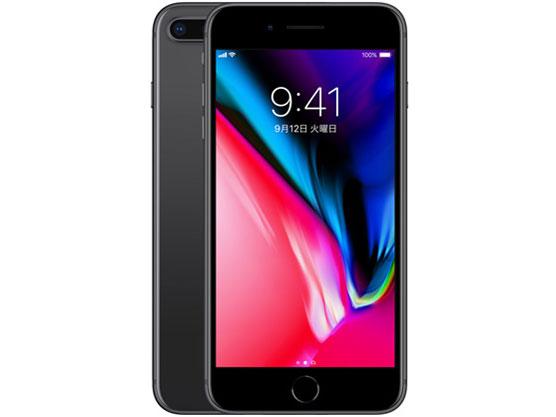 iPhone 8 Plus 256GB au [スペースグレイ] の製品画像
