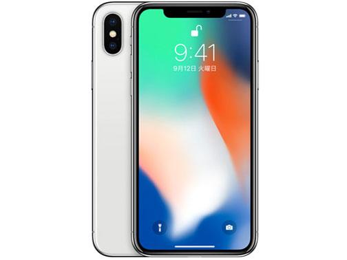 iPhone X 256GB au [シルバー] の製品画像