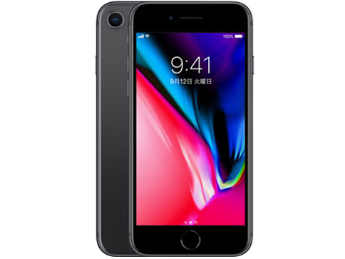 iPhone 8 64GB docomo [スペースグレイ] の製品画像