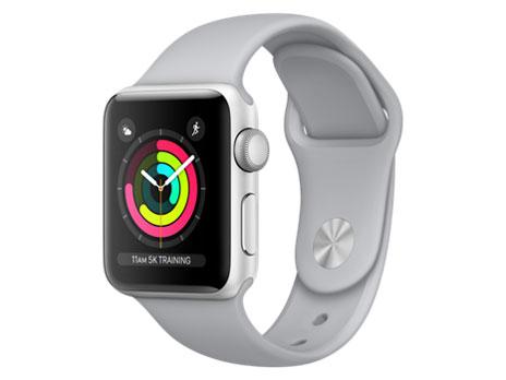 Apple Watch Series 3 GPSモデル 38mm MQKU2J/A [フォッグスポーツバンド] の製品画像