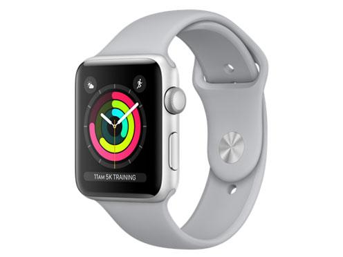 Apple Watch Series 3 GPSモデル 42mm MQL02J/A [フォッグスポーツバンド] の製品画像